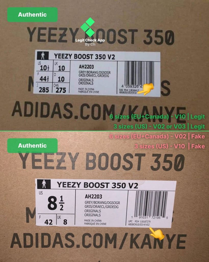 8436f2f6709 The Ultimate Yeezy Boost 350 V2 Fake Vs Real Guide (All Colourways)