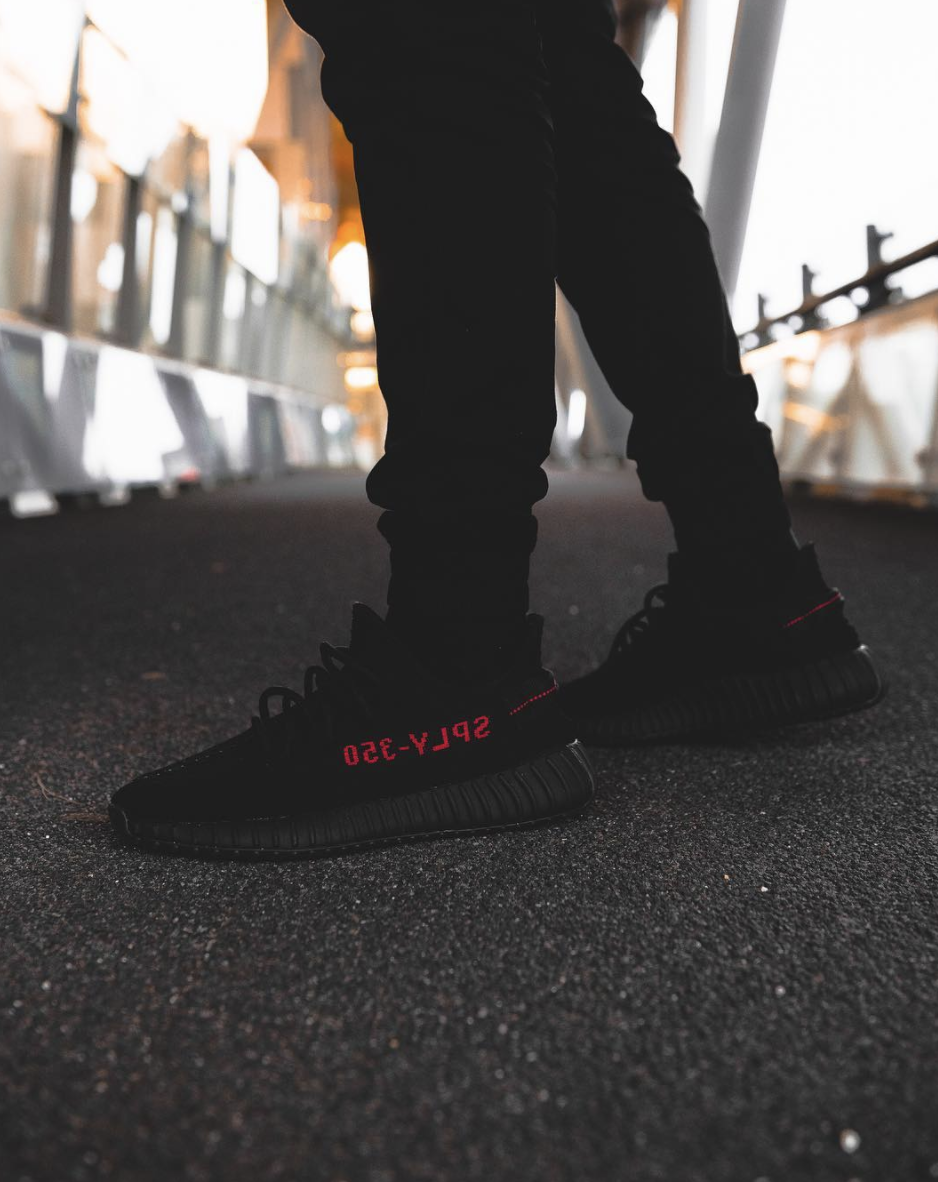 0e6593c057d Fake Vs Real Yeezy Boost 350 V2 Bred Size Tag - Legit Check App By Ch