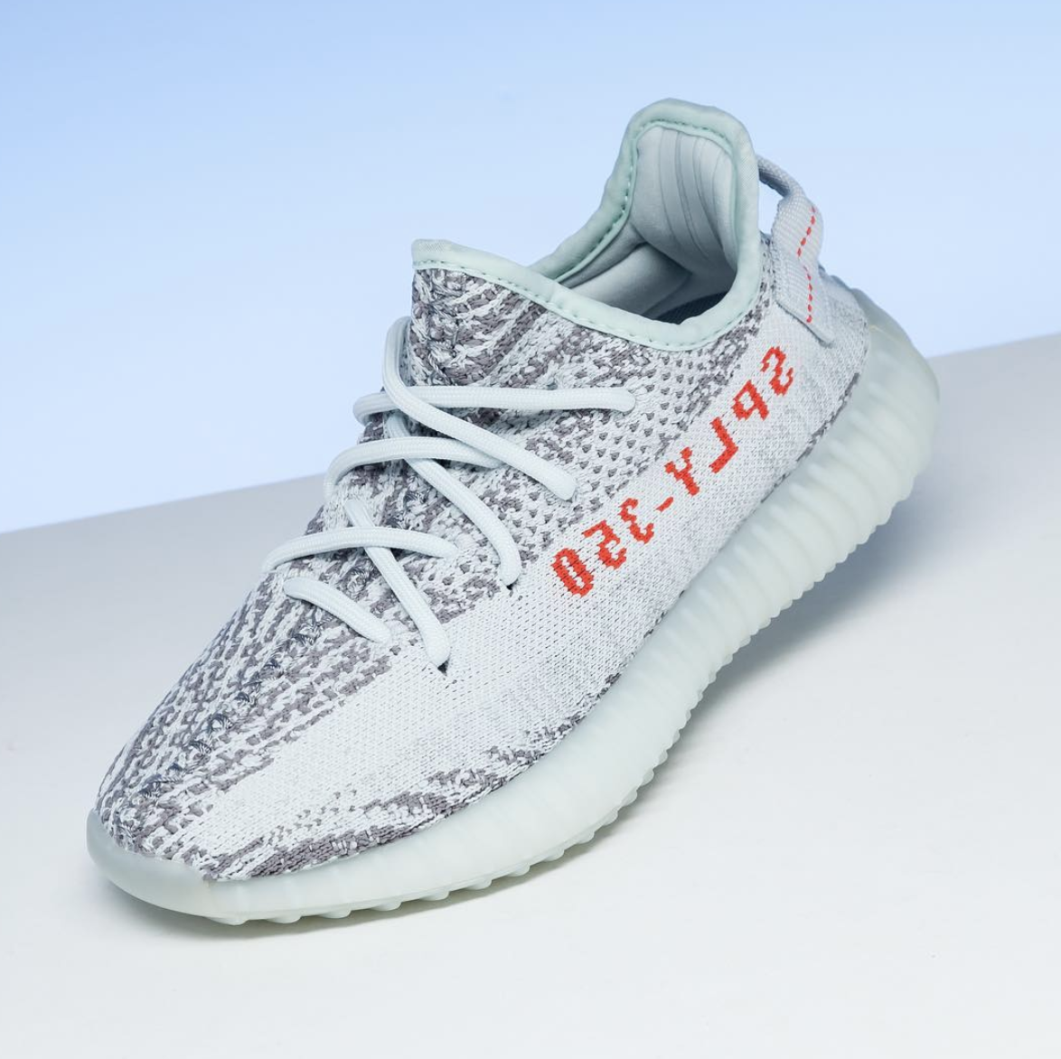sports shoes 76f63 f7a1c This guide shows how to tell between fake and real Yeezy Boost 350 V2 Blue  Tint size tag. Note that this is one LC guide that s part of a checklist —  see ...