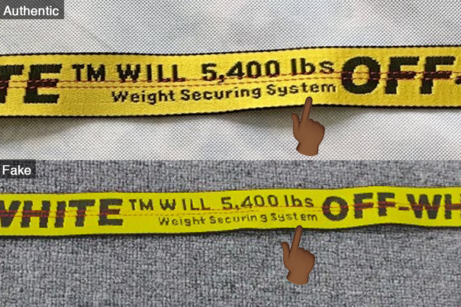 Extra Ing Between Syst And Em Please Also Look At The Overall Font On Weight Securing System Text Notice Difference