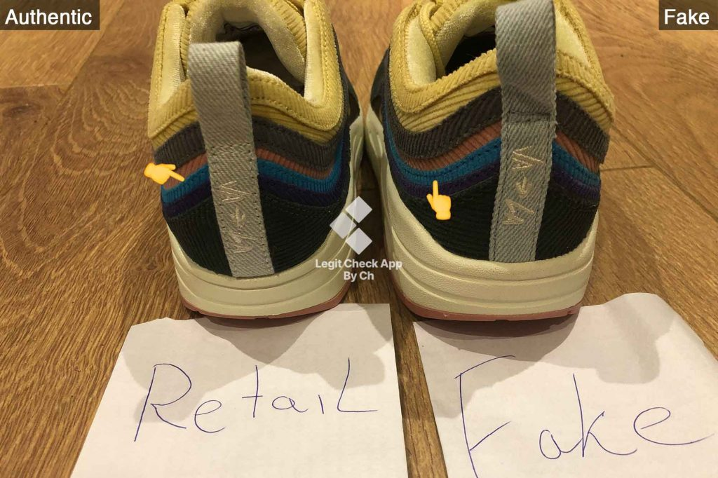 Nike Air Max 1/97 Sean Wotherspoon Stitching Guide