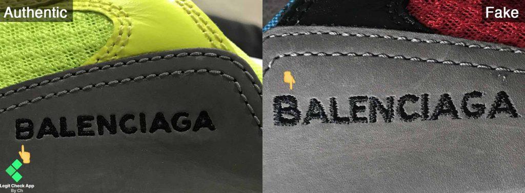 Balenciaga logo  text legit check