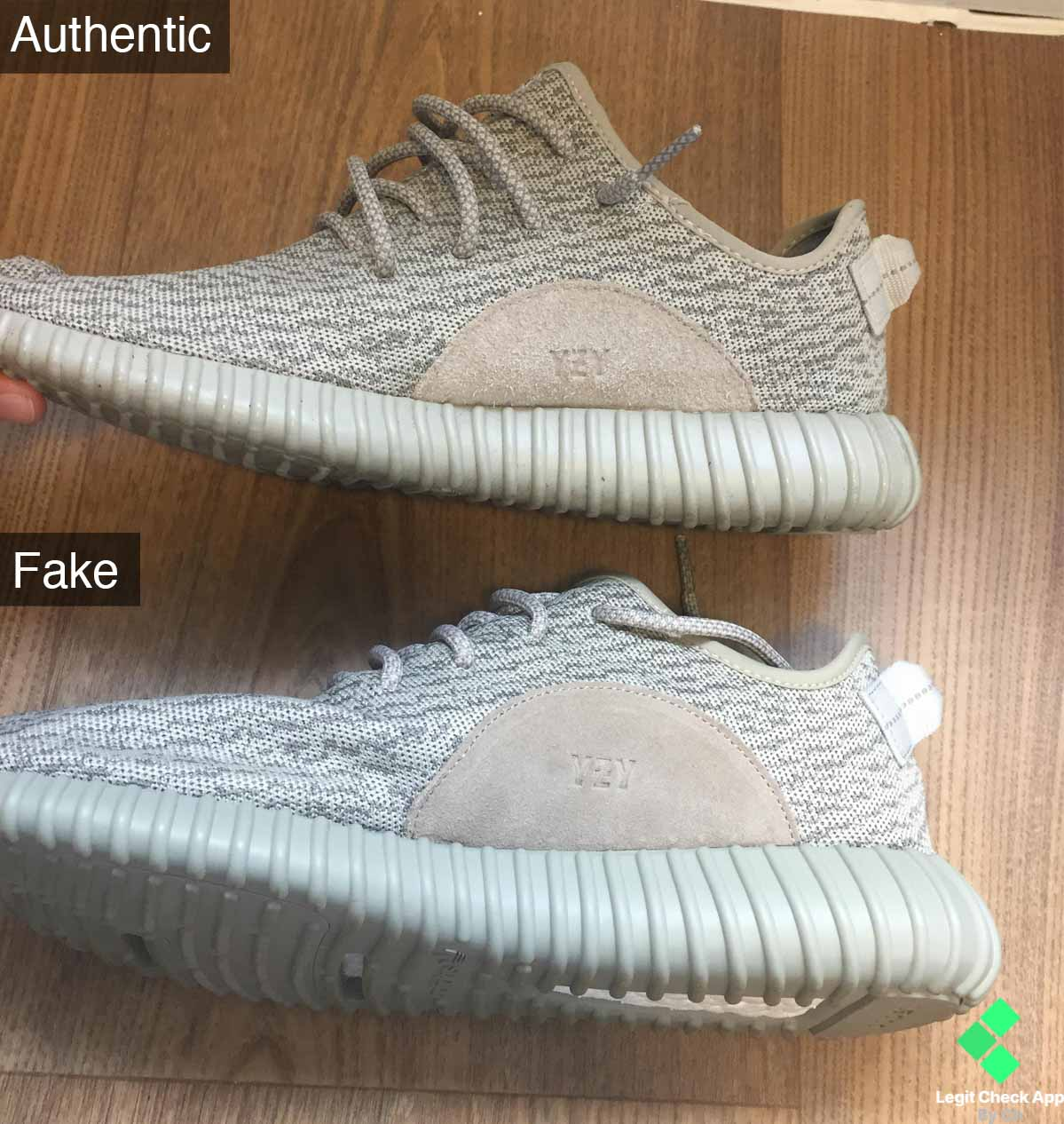 d22a99571dd Suede Patch Yeezy Boost 350 V1 Guide - Legit Check App By Ch