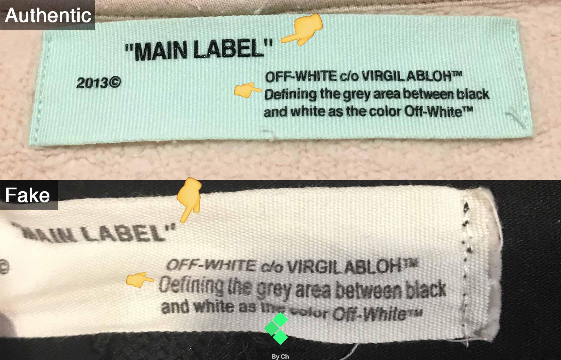 81c14b36 Off White Fake Vs Real Guide: