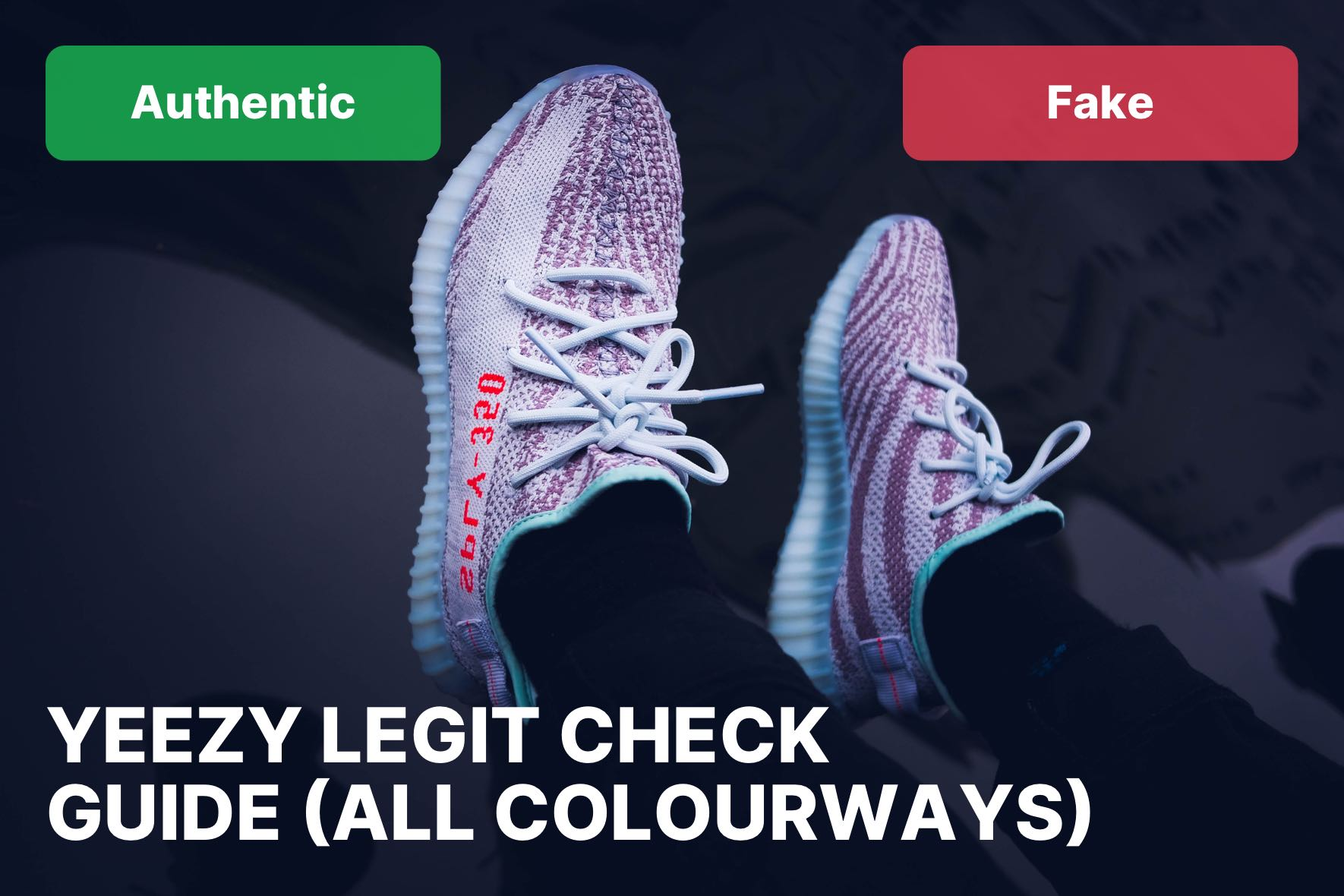 9fbe45a1b7e The Ultimate Yeezy Boost 350 V2 Fake Vs Real Guide (All Colourways)