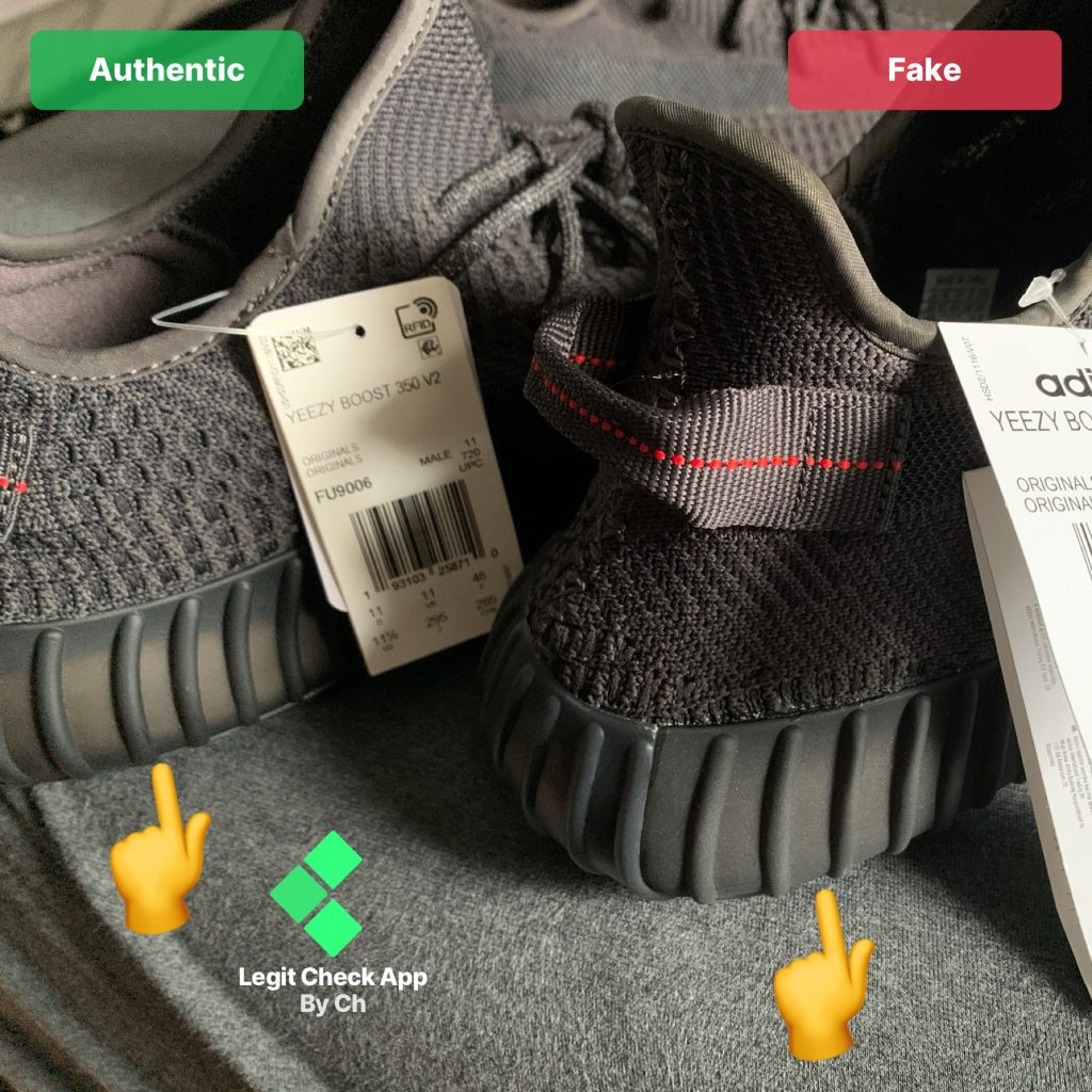 Here's How To Spot A Fake Ass Pair Of Yeezy Boost 350 Sneakers