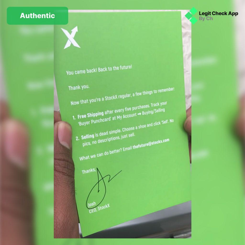 StockX Tag Real Vs Fake Legit Check Guide - Legit Check App